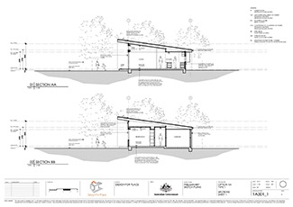 The 'Design For Place' house plans are freely downloadable