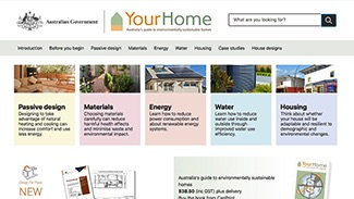 The YourHome site is a fantastic resource for passive solar building in Australia